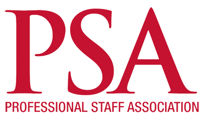 PSA: Professional Staff Association